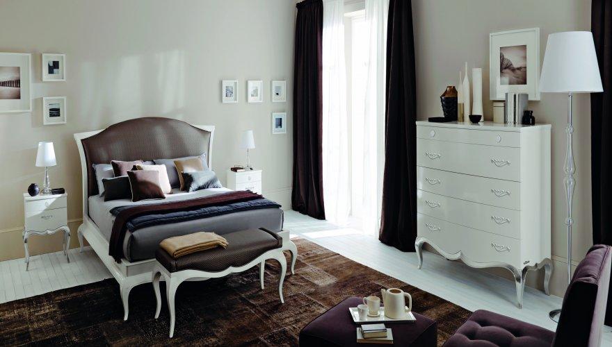 camera vero legno sagomato