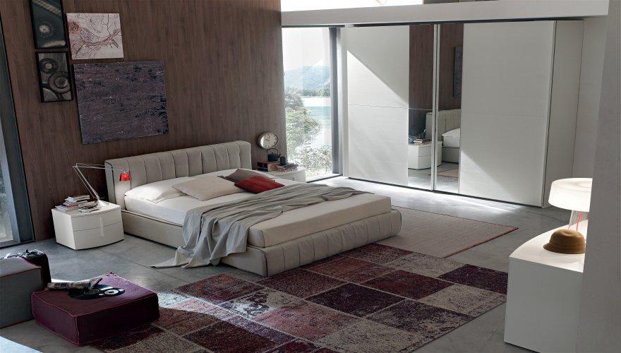 camera moderna matrimoniale