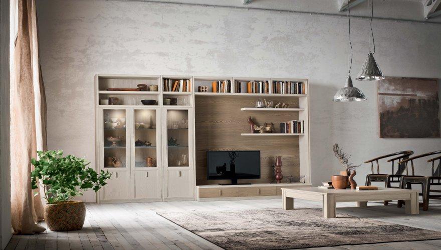 Design per la casa - Parete attrezzata contemporanea ...