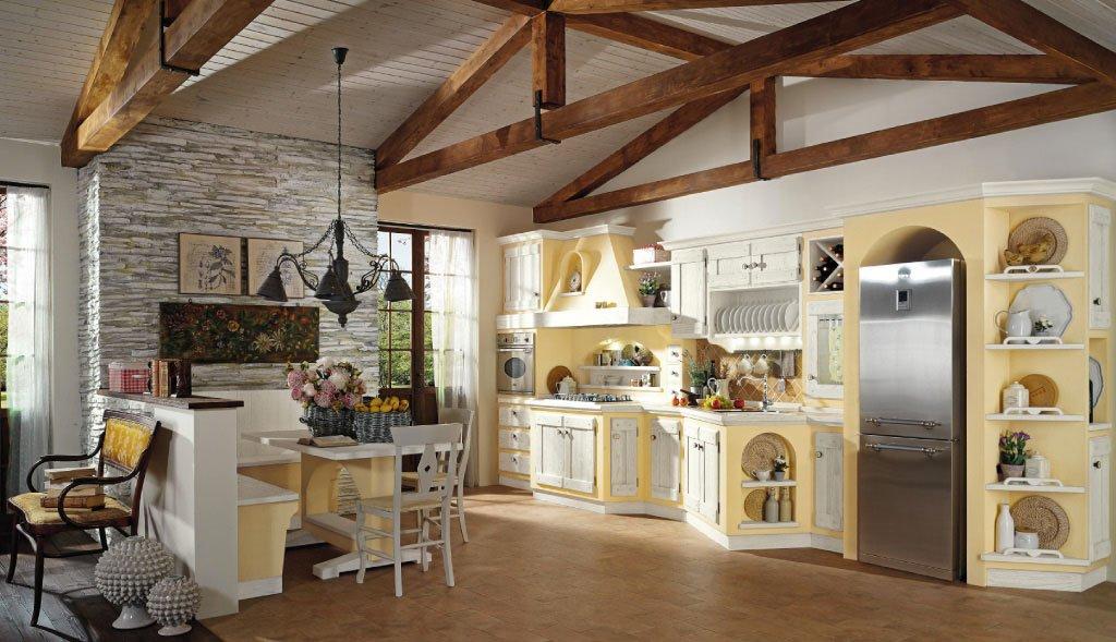 Cucine - Cucine finta muratura lube ...