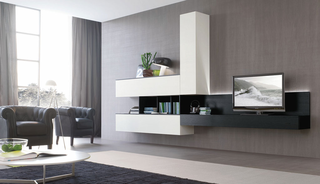 Composizioni soggiorno stile contemporaneo tutte le for Piani di casa in stile moderno contemporaneo
