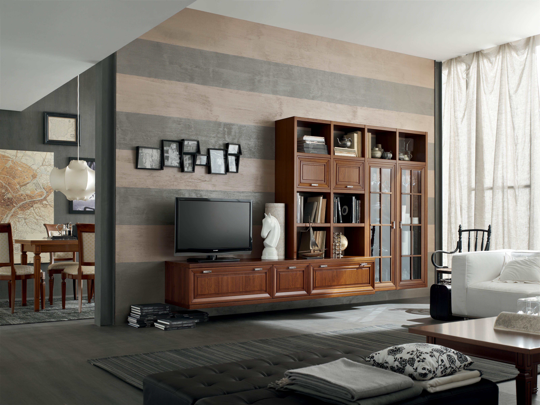 Lampadario a soffitto - Arredamento contemporaneo soggiorno ...